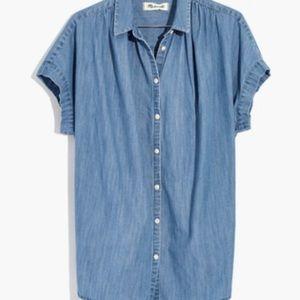 Madewell central shirt Roberta Indigo